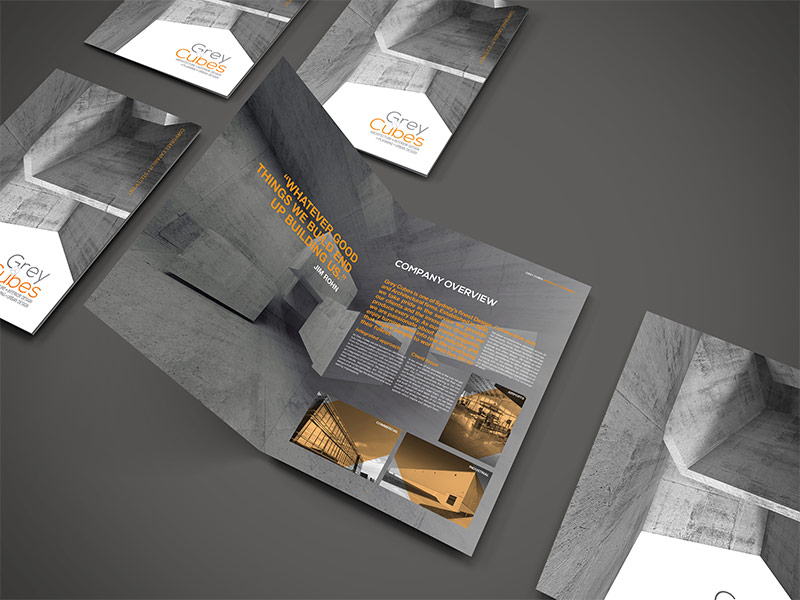 Grey Cubes Architects Company Brochure