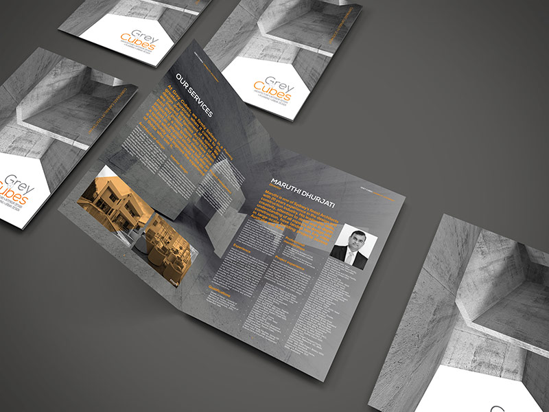 Grey Cubes Architect Capability Brochure