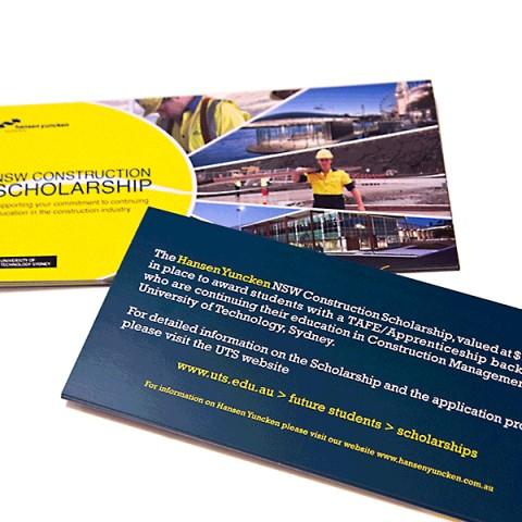 NSW Construction Scholarship Flyer