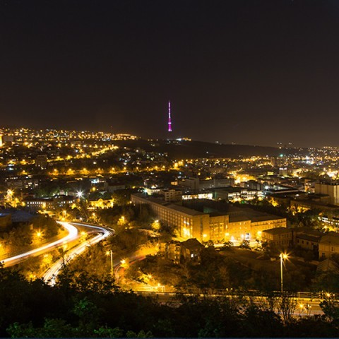 Yerevan, Armenia by Night