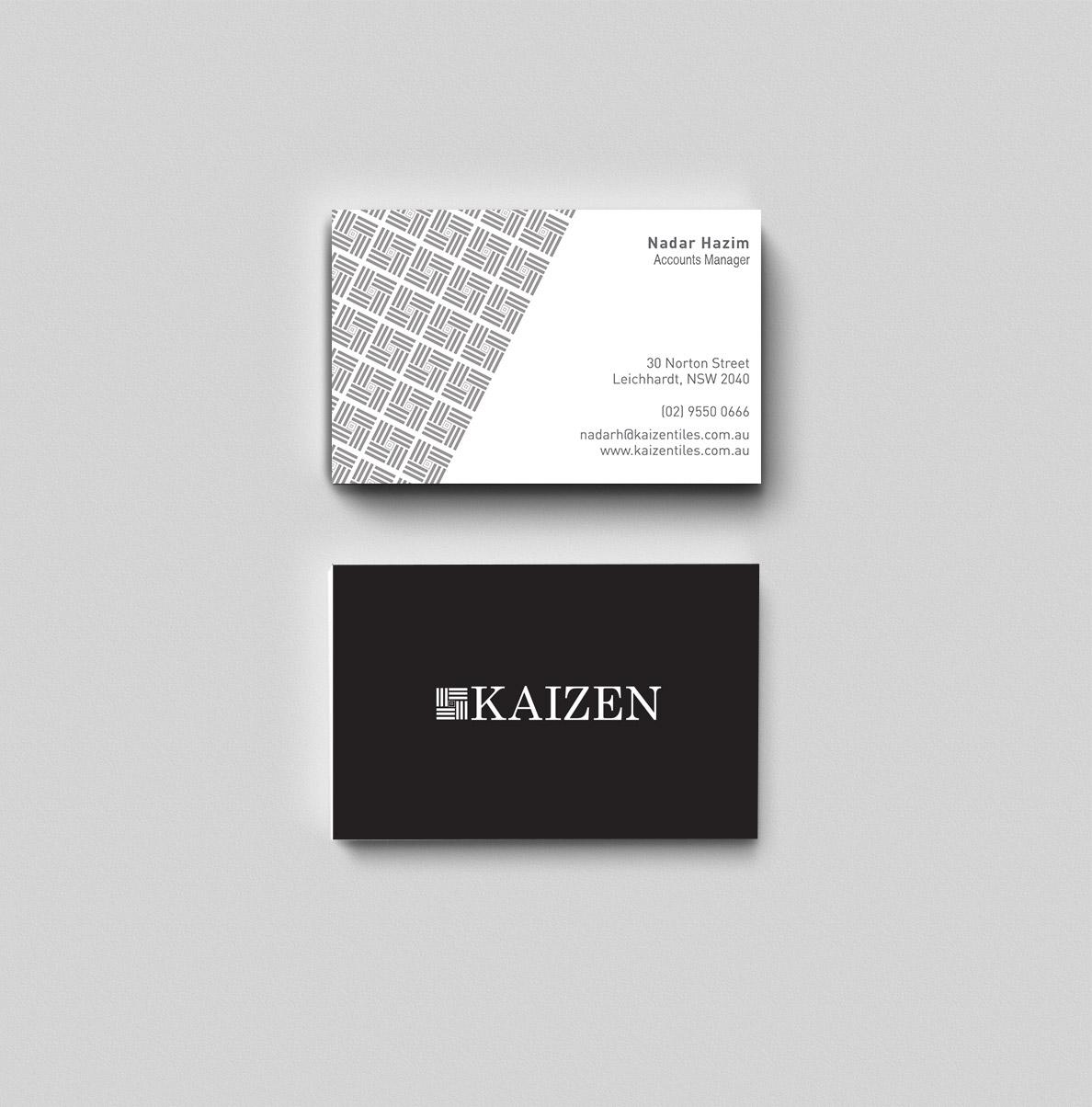 Kaizen Business Cards