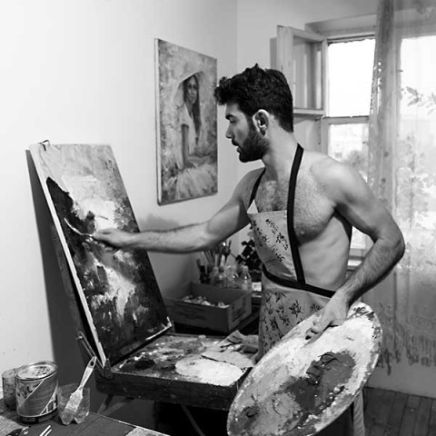 Tigran Mamikonyan Portrait of an Artist