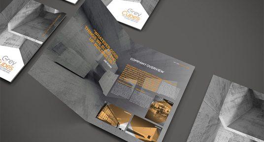 Grey Cubes Architects Company Brochure