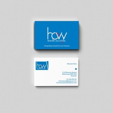 Hovy Reward Solutions Branding