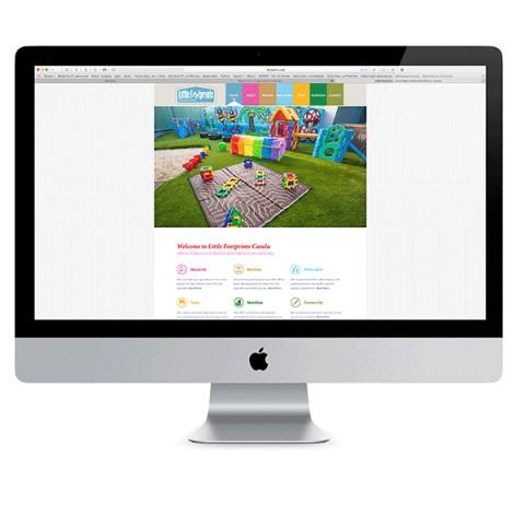 Little Footprints Website