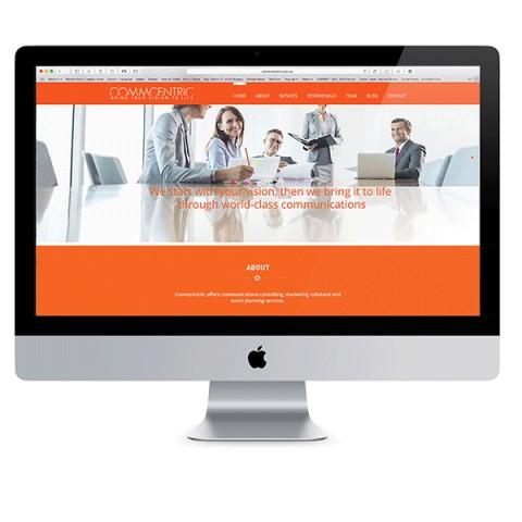 Commcentric Website