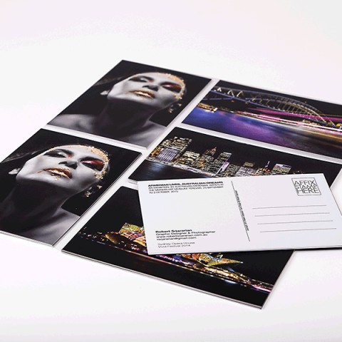Self Promotional Post Cards